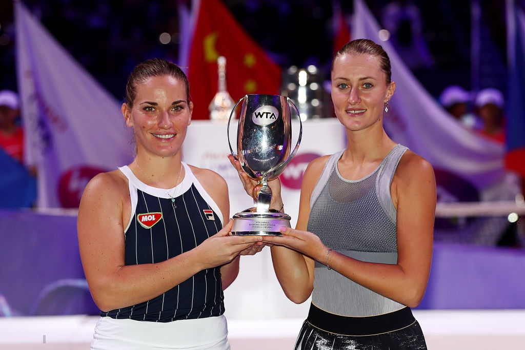 WTA Finals: Babos and Mladenovic successfully defend their title