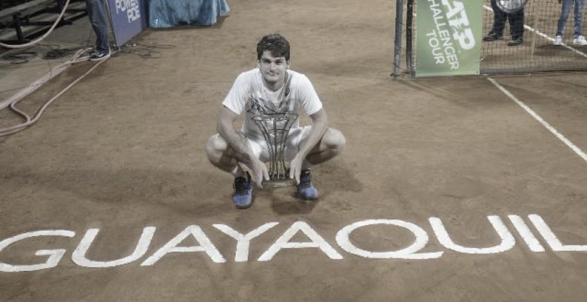 Campeão em 2019, Thiago Wild não disputará o Challenger de Guayaquil