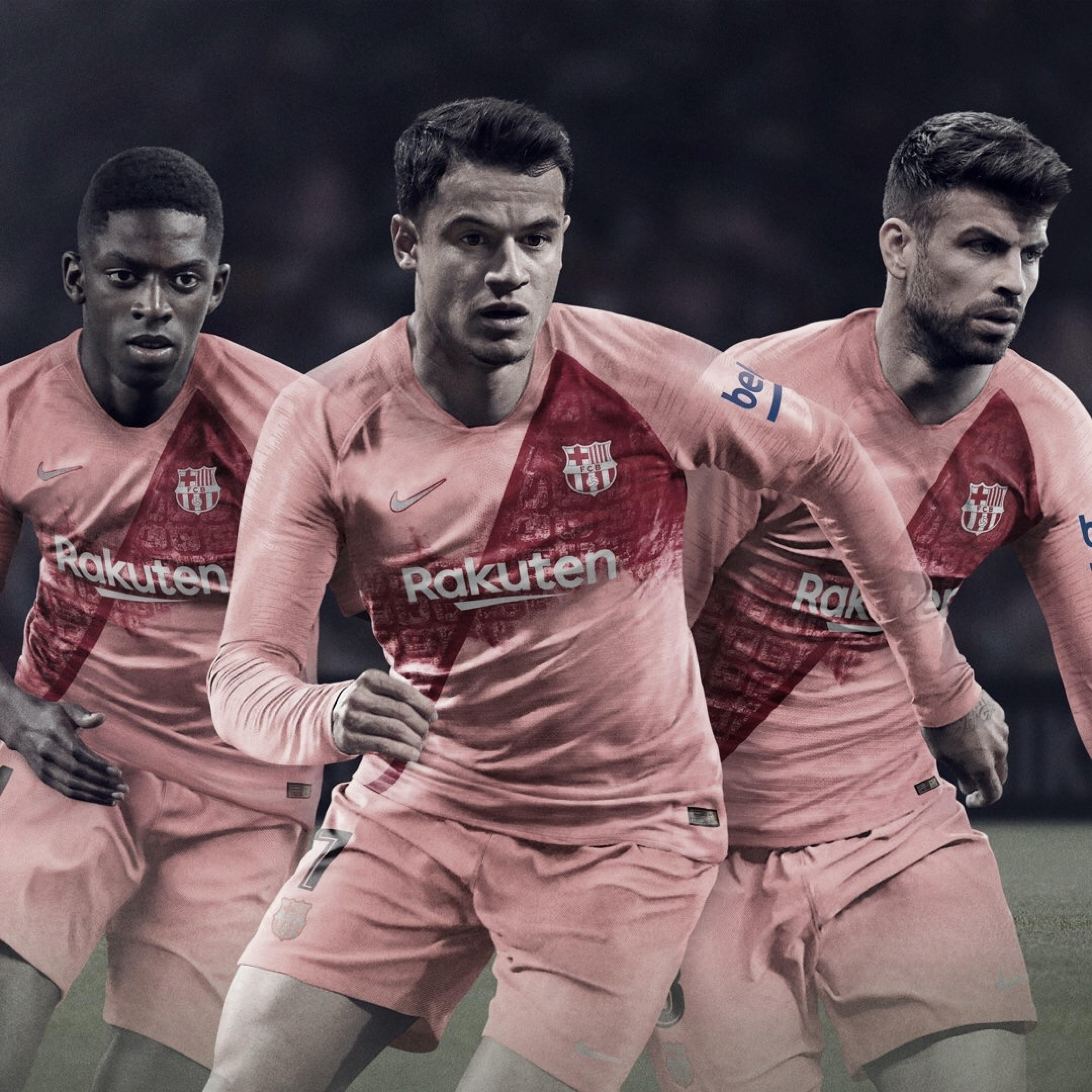Barcelona anuncia terceiro uniforme para a temporada 2018-19