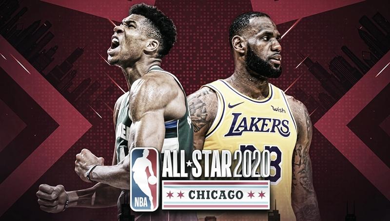 Equipes do All-Star Game da NBA são definidas por LeBron James e Antetokounmpo; confira os times