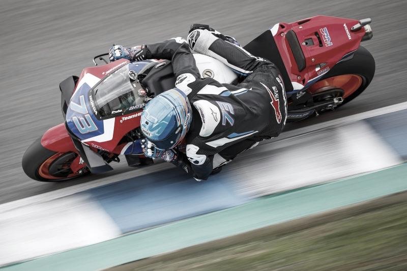 Finalizado el primer día de test para el Repsol Honda Team