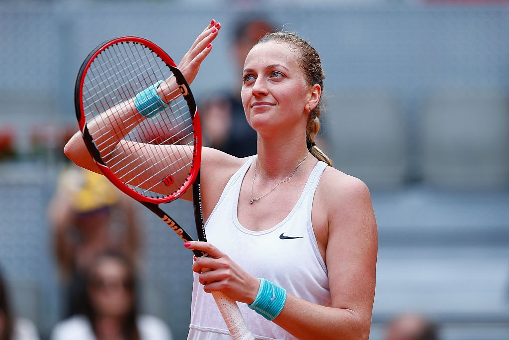 WTA Madrid First Round Preview: Petra Kvitova - Lara Arruabarrena