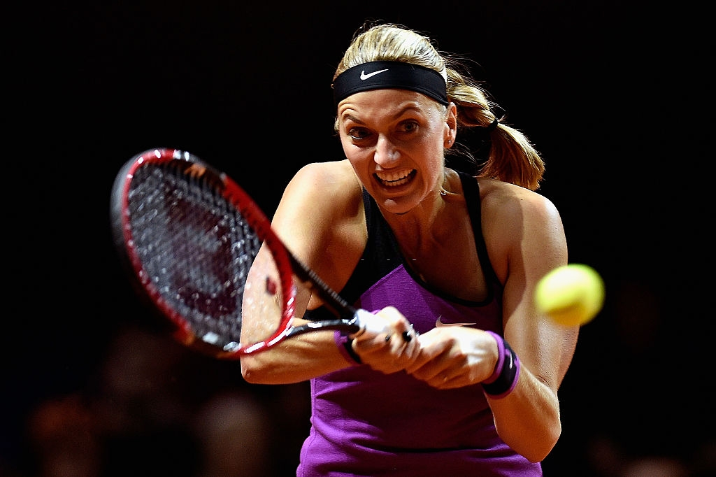 WTA Madrid: Petra Kvitova impressive in second round win