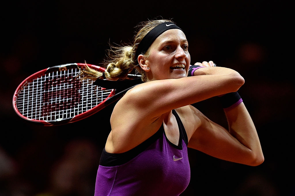 WTA Stuttgart: Petra Kvitova launches almighty comeback to book quarterfinal spot