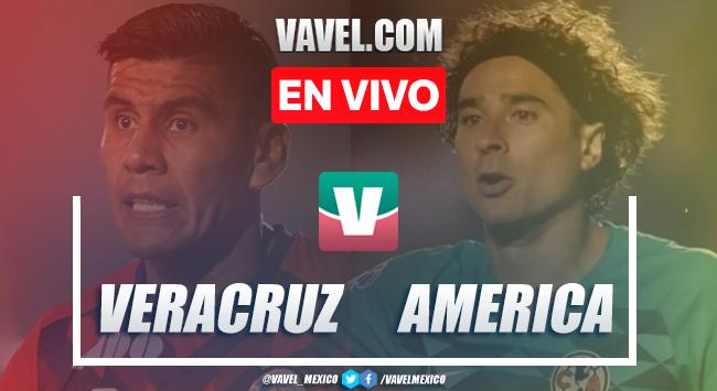 Resumen y video goles Veracruz 0-5 América en Apertura 2019