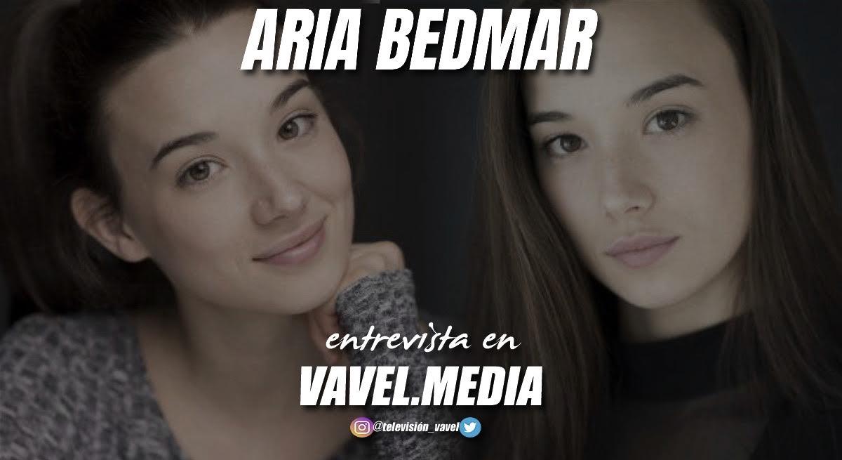 """Entrevista. Aria Bedmar: """"No me imaginaba mi vida de otra manera que no fuera en el mundo de la interpretación"""""""