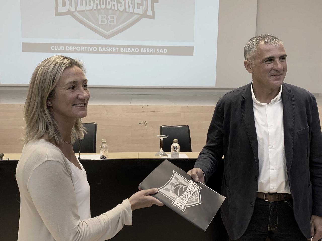 Isabel Iturbe, nueva presidenta de RETAbet Bilbao Basket