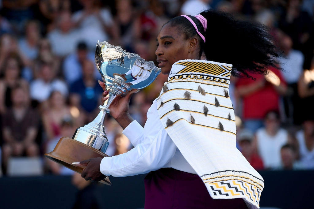 WTA Auckland: Serena Williams ends title drought with straight-sets win over Jessica Pegula