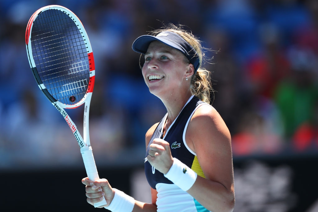 2020 Australian Open: Clinical Kontaveit concedes just one game, stuns Bencic in 49 minutes