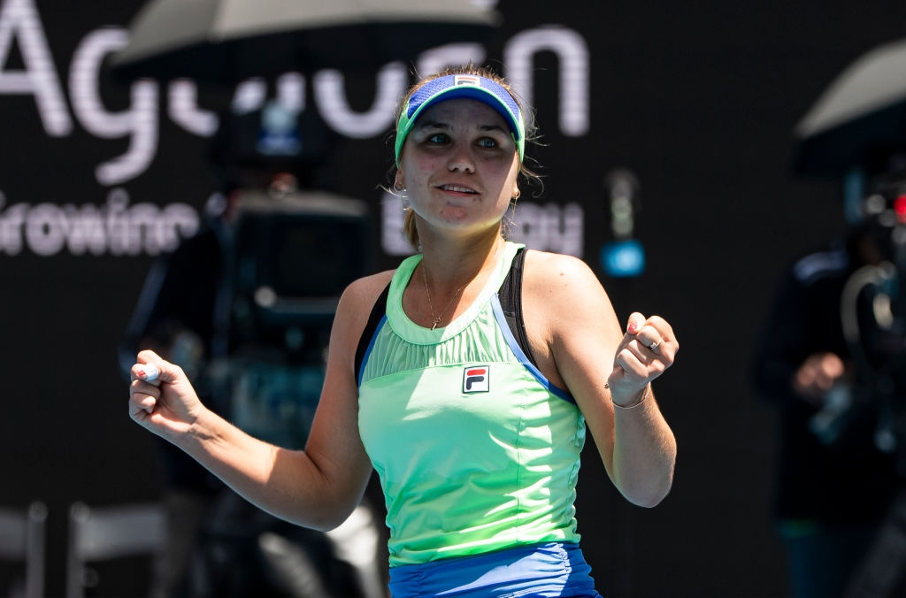 2020 Australian Open: Sofia Kenin soars into first Grand Slam semifinal
