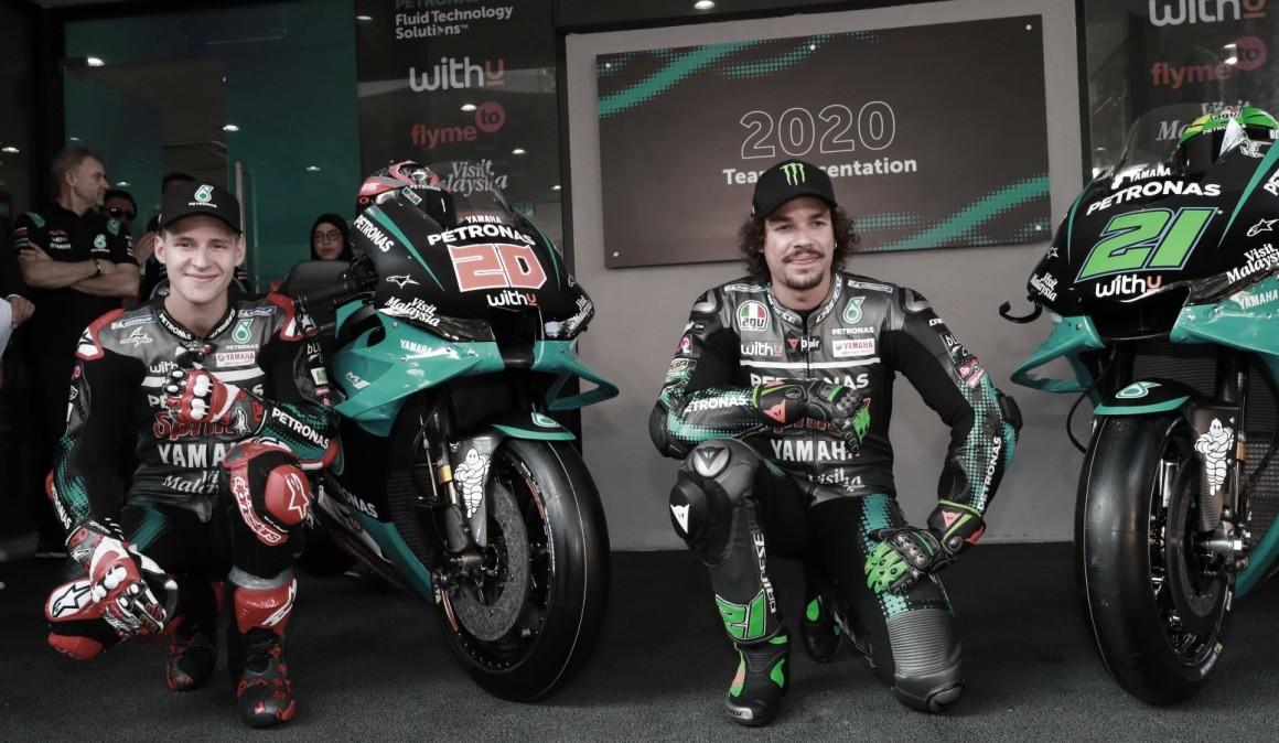 Petronas Yamaha líder del Mundial, después de disputar la primera prueba