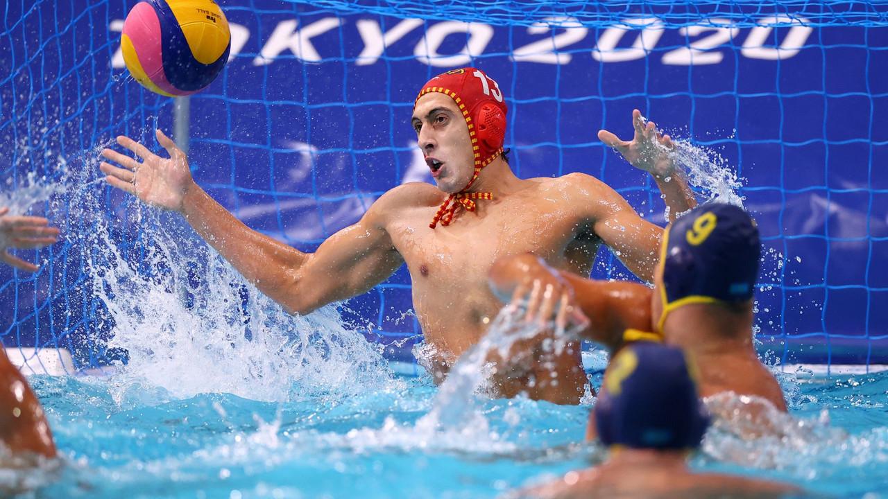 España acaba con Croacia en waterpolo masculino