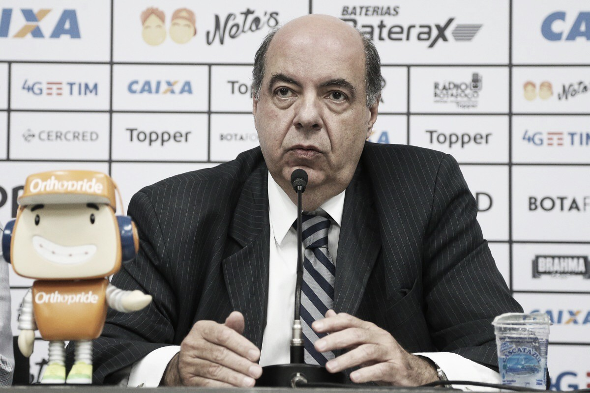"""Mufarrej se pronuncia sobre crise financeira no Botafogo: """"Queremos passar confiança ao torcedor"""""""