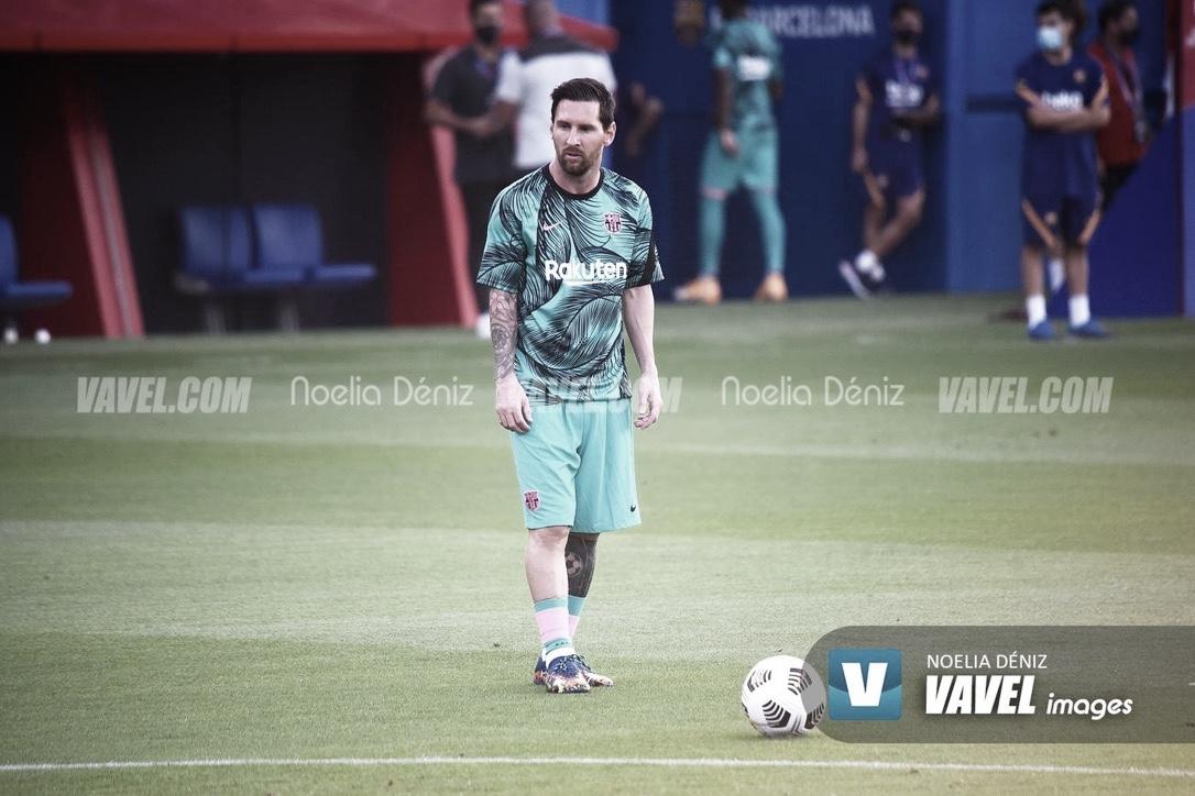 Messi titular en el empate de Argentina ante Colombia (2-2)