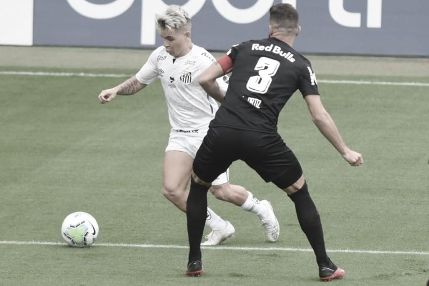 Gols e melhores momentos de Bragantino x Santos (1-1)
