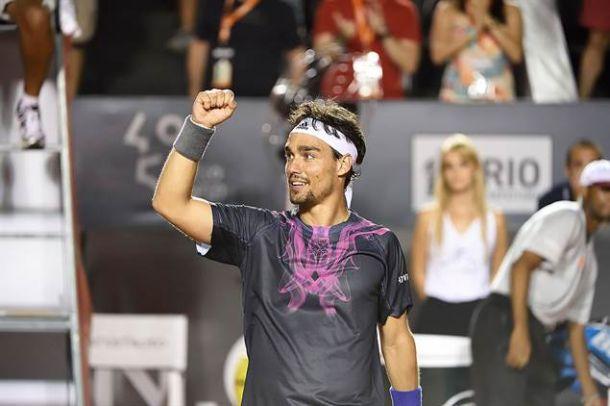 ATP Rio: Fognini è grande, battuto Nadal