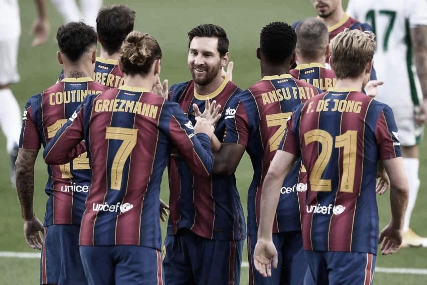 Gols e melhores momentos de Barcelona 3 x 0 Elche pelo Campeonato Espanhol