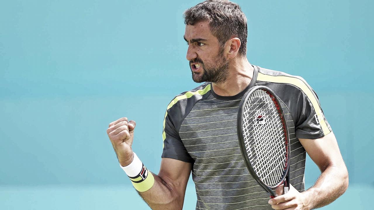 Atual campeão, Cilic vence Garin na estreia e vai à segunda rodada do ATP 500 de Queen's