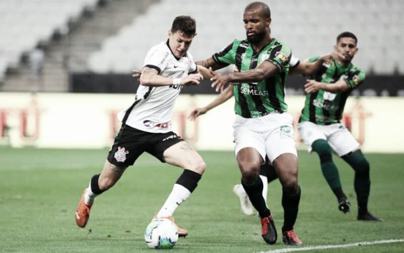 Gols e melhores momentos para América-MG 1x1 Corinthians pela Copa do Brasil