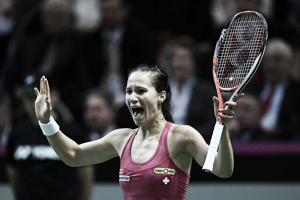 Fed Cup: Czech Republic strikes first, Switzerland then levels to stay alive