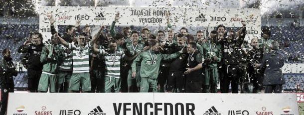 Sporting vence Benfica e conquista a taça de honra