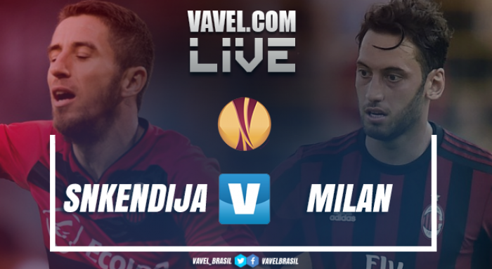 Resultado Shkëndija x Milan pelos playoffs da Uefa Europa League 2017/18 (0-1)