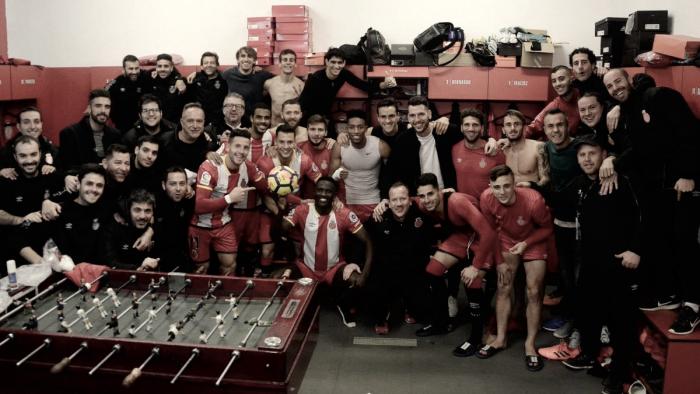 Girona FC - UD Las Palmas: puntuaciones del Girona, 19ª jornada de la Liga Santander