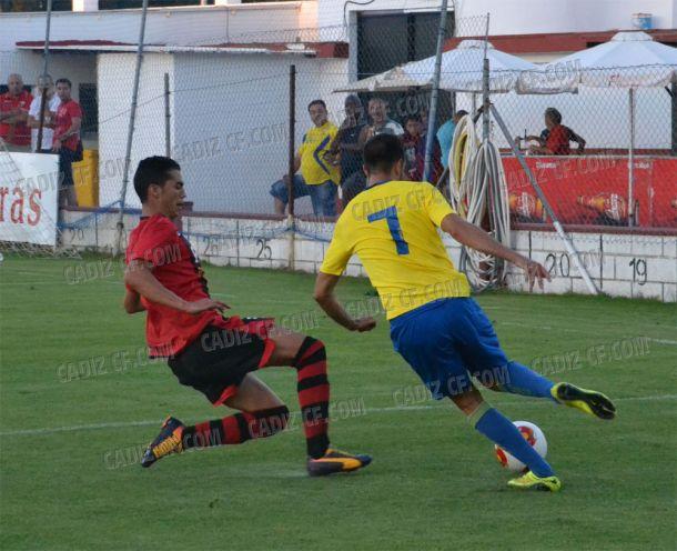 La Roteña no fue rival para el Cádiz (1-10)
