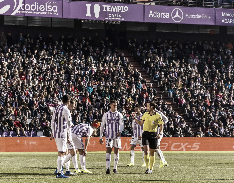Cordero Vega vuelve a verse las caras con el Real Valladolid 57 días después