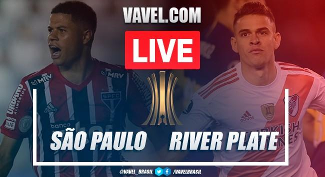 Resumen: San Pablo vs River (2-2) por la Copa Libertadores 2020
