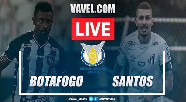 Melhores momentos de Botafogo 0x0 Santos pelo Brasileirão 2020