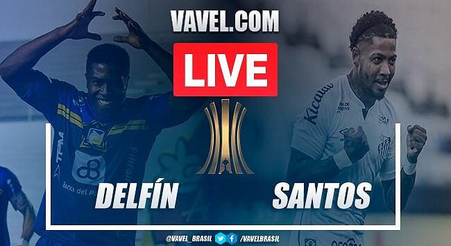 Delfín x Santos AO VIVO: jogo em tempo real pela Copa Libertadores