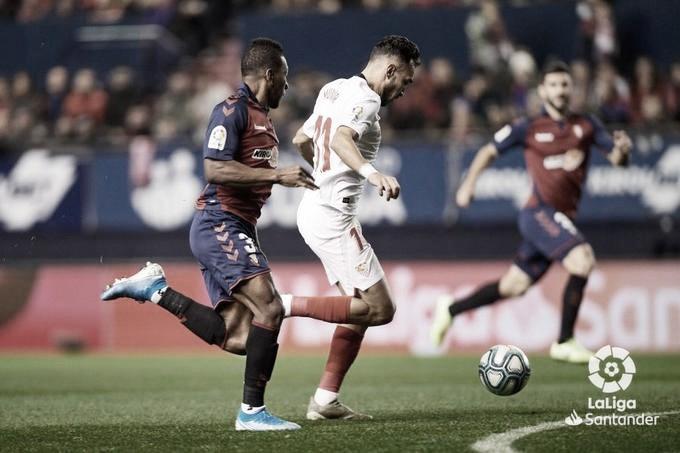Resumen del Sevilla 1 - 0 Osasuna de LaLiga Santander 2020
