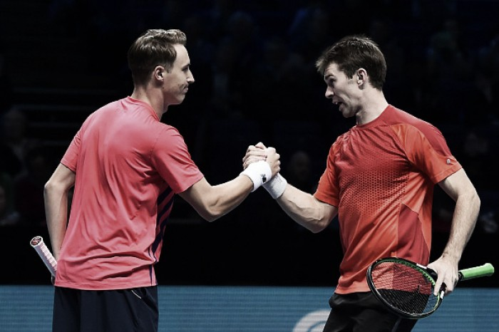 ATP World Tour Finals: Kontinen/Peers defeat Herbert/Mahut to maintain unbeaten start
