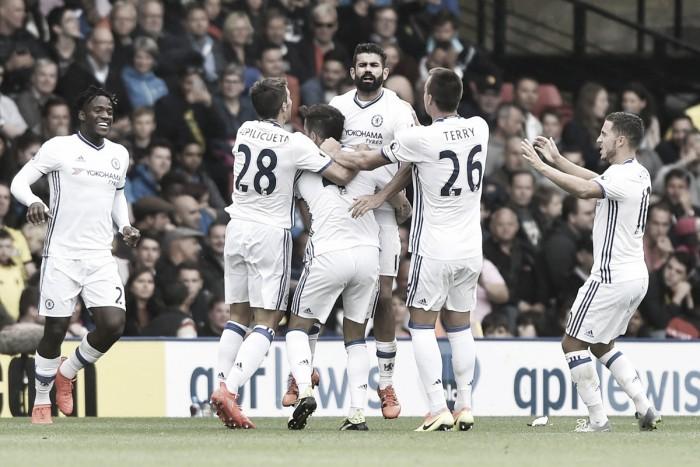 Conte ringrazia Batshuayi (e Gomes): Chelsea a punteggio pieno, Watford abbattuto nel finale