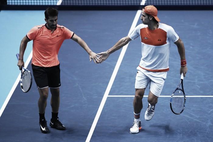 ATP World Tour Finals: Lopez/Lopez knock out world number one pair Herbert/Mahut in match tiebreaker