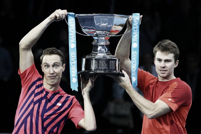 ATP World Tour Finals: Kontinen/Peers cap off great week by capturing year-end title