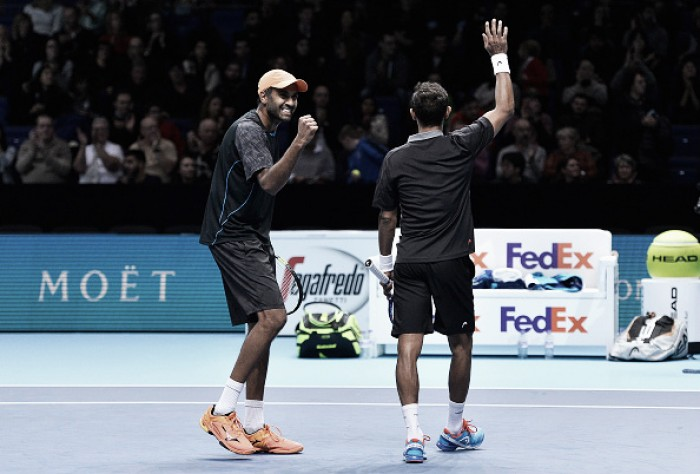 ATP World Tour Finals: Klaasen/Ram defeat Lopez/Lopez in straight sets to grab the final semifinal spot
