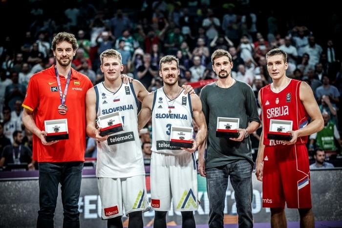 Eurobasket 2017- Ecco i magnifici cinque del quintetto ideale