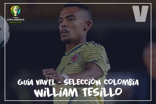 Guia VAVEL, Cafeteros en la Copa América 2019: William Tesillo