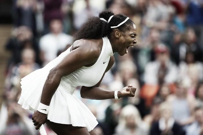 Em partida surpreendente, Serena se recupera e desbanca McHale em Wimbledon