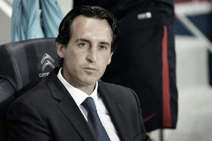 """Após mais um tropeço do PSG, técnico Unai Emery isenta jogadores: """"Eu sou o responsável"""""""