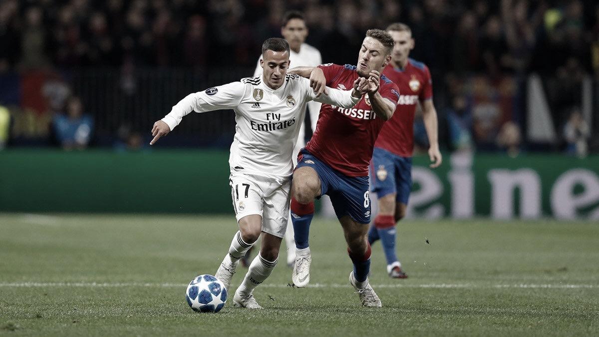 CSKA surpreende e Real Madrid perde na segunda rodada da Liga dos Campeões