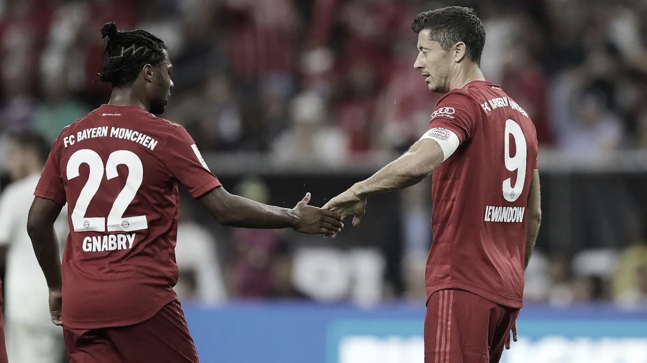 Rodrygo marca golaço, mas Bayern de Munique derrota Real Madrid pelaChampions Cup