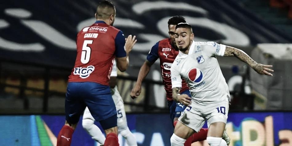 Estadísticas del empate que tuvo Millonarios frente a independiente Medellín