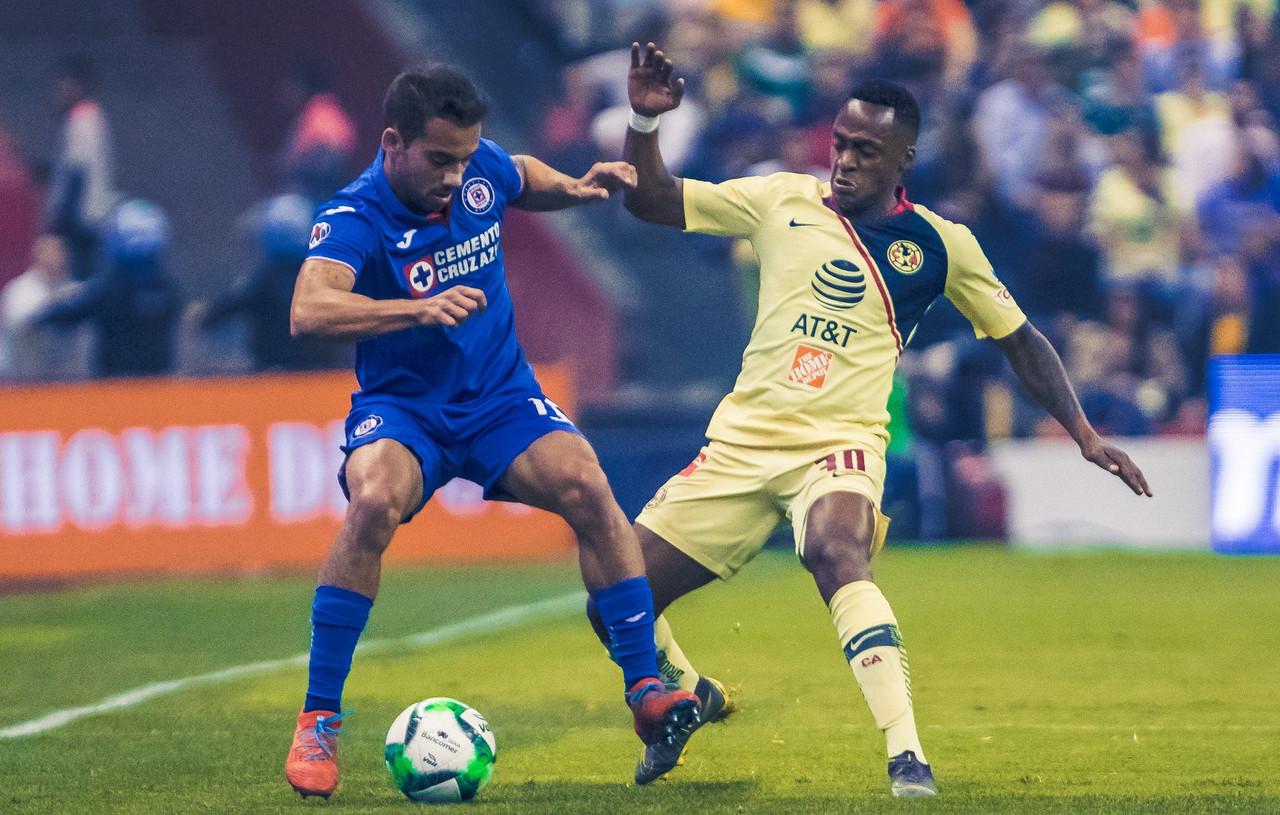 Goles del partido Cruz Azul vs América en Liguilla 2019 (1-0) GLB (2-3)