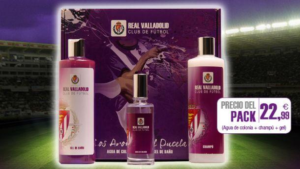 El Real Valladolid presenta su nueva línea de productos aromáticos