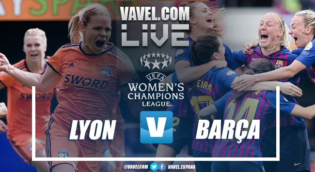 Resumen Olympique Lyon vs Barcelona (4-1)