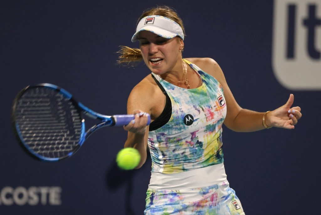 WTA Miami: Sofia Kenin prevails in opener against Andrea Petkovic