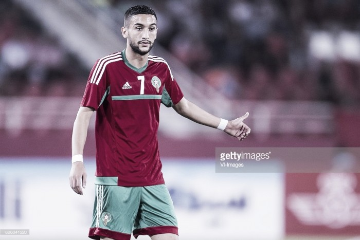 Hakim Ziyech se cobró su revancha deportiva con Marruecos